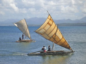 Traditional Fiji Canoes by Stacy Jupiter