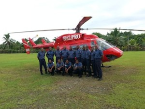 Helipro Training Navy Participants