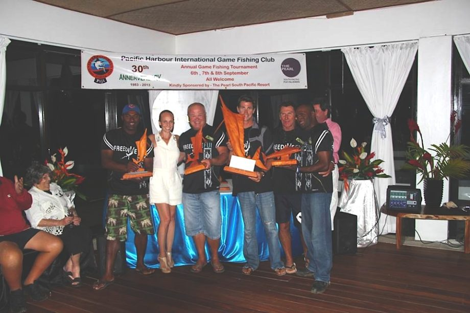 Freedive Fiji Winning Team