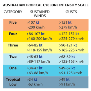 Cyclone Intensity Scale
